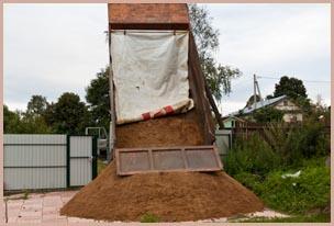 Доставка песка в Красноярске