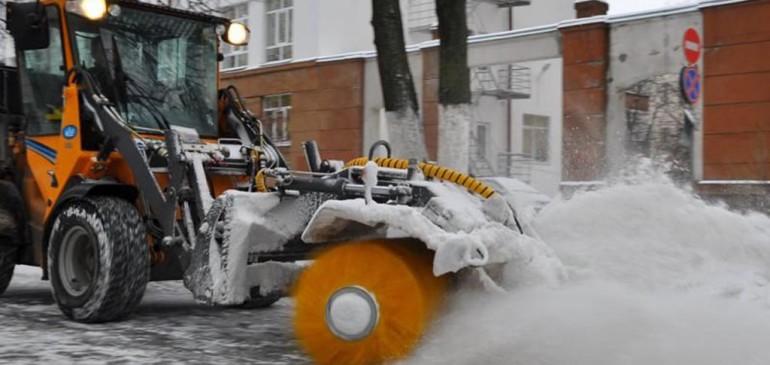 Благоустройство дворов домов в зимнее время года
