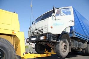 буксировка грузовиков