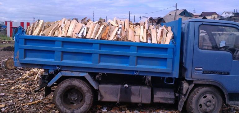 Доставка березовых дров