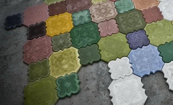 Факты о цветном бетоне
