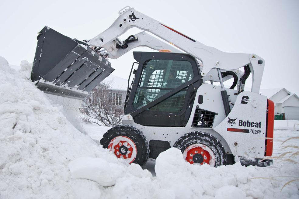 уборка снега в красноярске