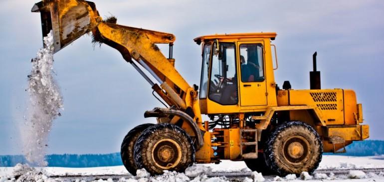 Спецтехника для строительства в зимний период