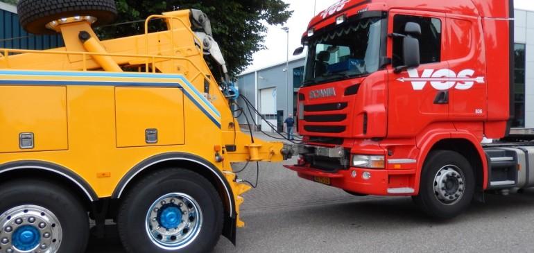 Буксировка грузовых автомобилей
