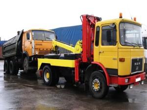 эвакуация грузовика Красноярск